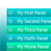 Accordion Panel V3 Theme Green D2